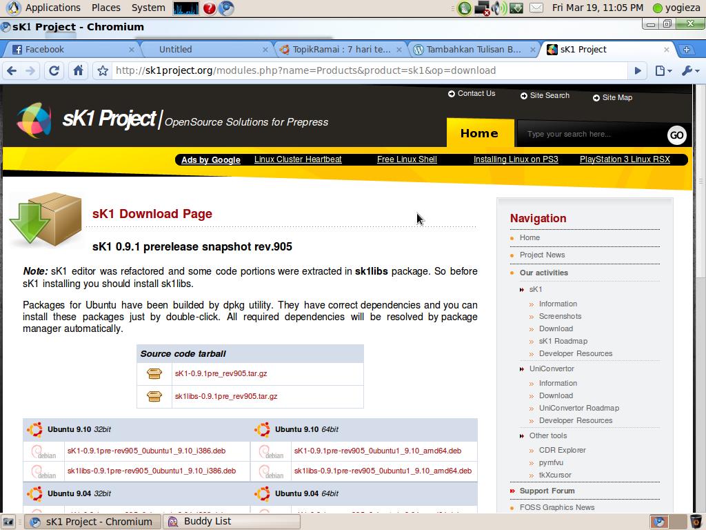 Sk1 Penggantinya Corel Draw Di Ubuntu