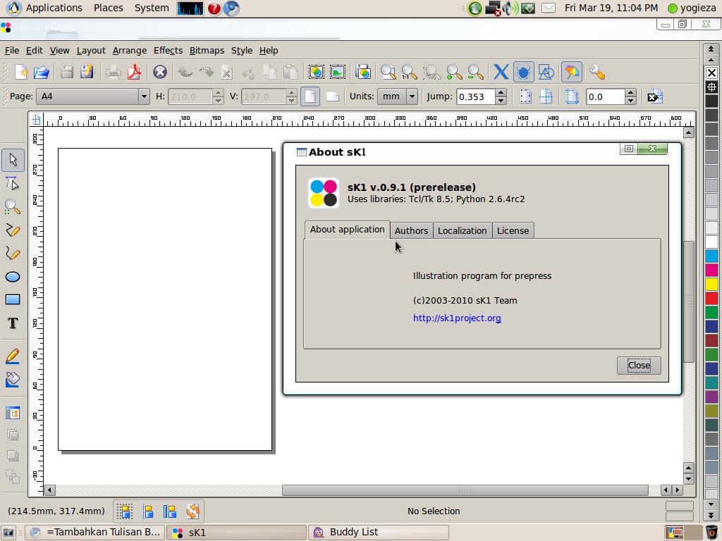 Sk1 Penggantinya Corel Draw Di Ubuntu Kpli Sinjai